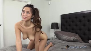 Asian Latina Alexia Anders Grabs Her Pretty Tits While Getting Dicked!